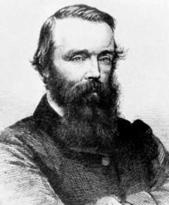 Robert O'Hara Burke, Australian explorer. Believed to be cousin of James Long Snr.