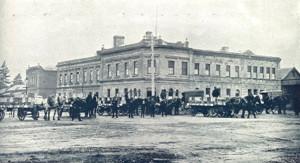 James Long's confectionery factory in Ballarat. Circa 1904.