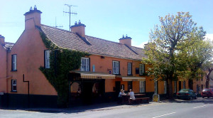 The Mountshannon Hotel in Ireland as it is today in James Long's hometown.