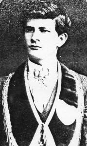 Allan Long at age 20.