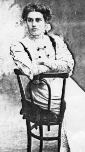 Althea Clara Long (nee Clay). April 1910.